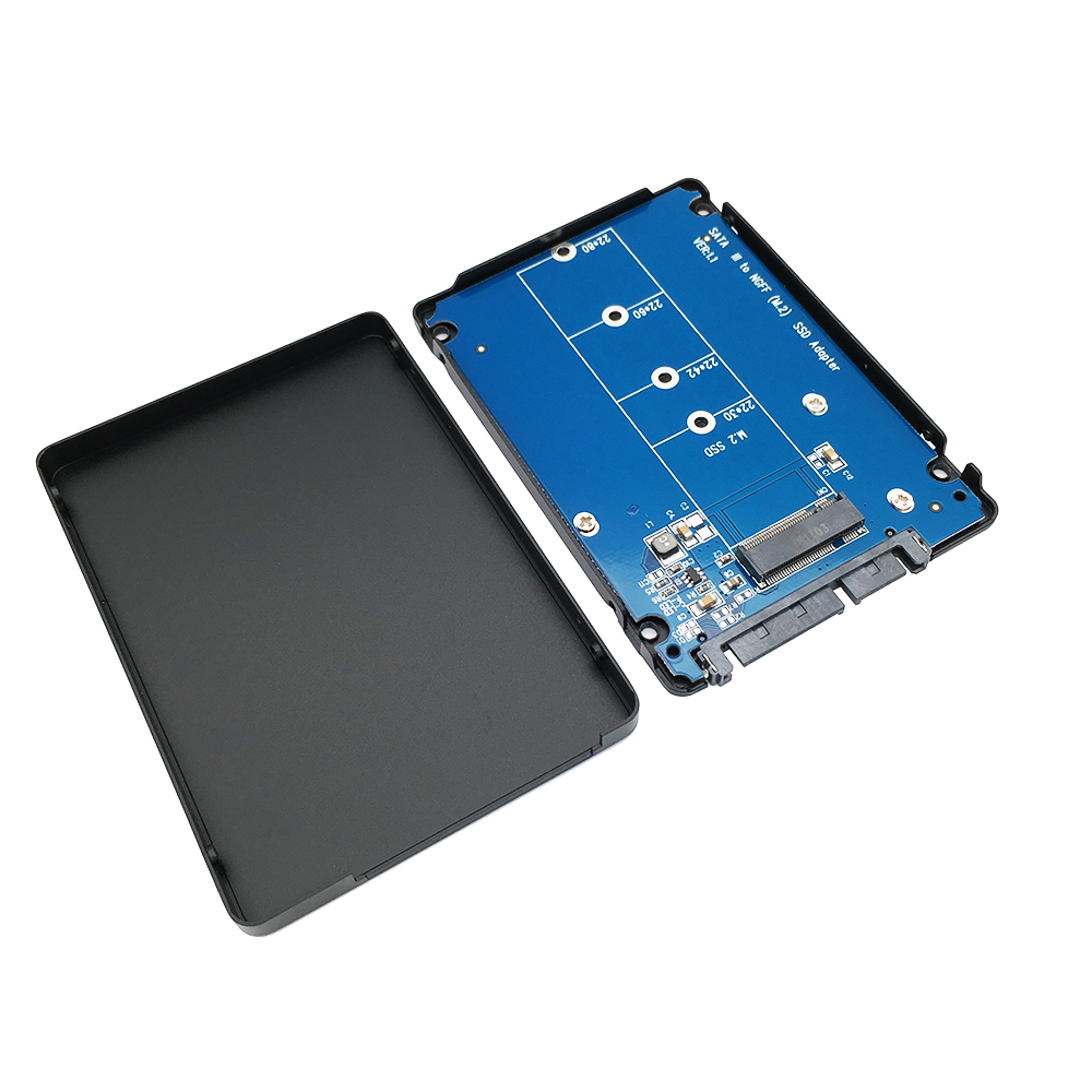 M.2(NGFF) SATA KEY B+M SSD to SATA Adapter with 7mm case