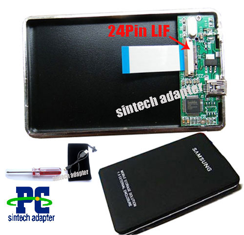 usb external 24pin samsung LIF HS12UHE macbook air ssd Enclosure