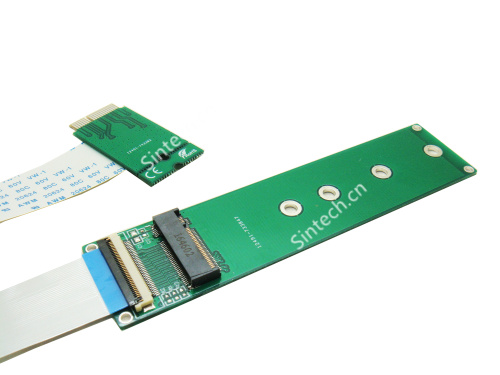 M.2 (NGFF) nVME SSD to Macbook Wifi card for Samsung 960